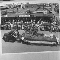 Memorial Day Parade 1955