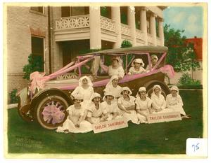 Nurses at Taylor Sanitarium