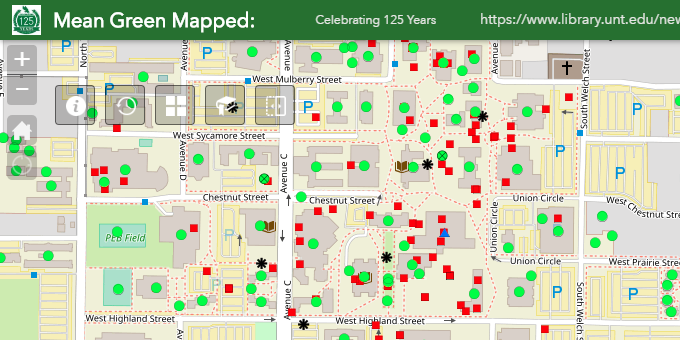 Mean Green Mapped