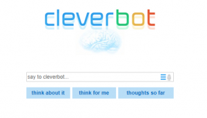 CleverBot Opening Screen