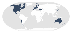 Map of OECD Member Countries