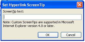 Screen Tip creator