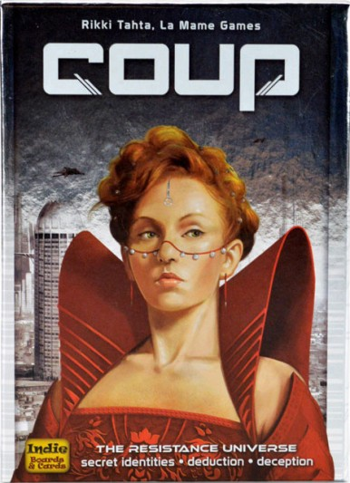 Coup Game box cover