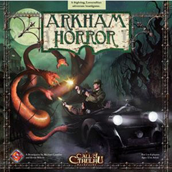 Arkham Horror box cover
