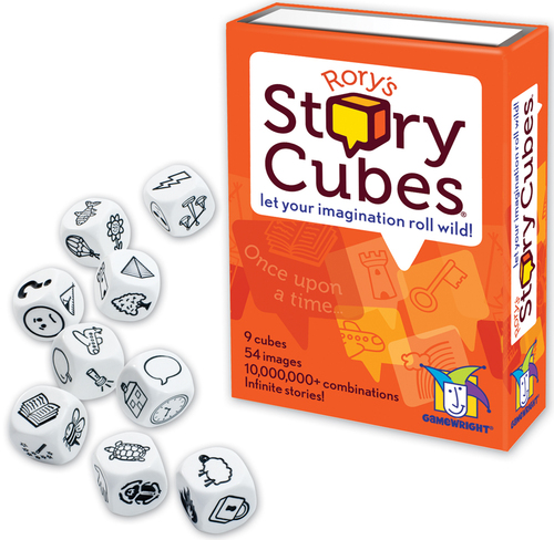 Rory's Story Cubes box cover