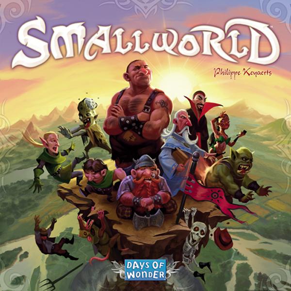 Small World box cover