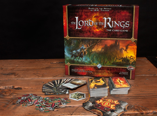 The-Lord-of-the-Rings-The-Card-Game-Components