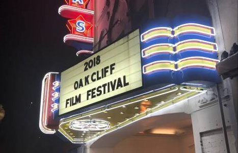 Texas Theater marquee announces 2018 Oak Cliff Film Festival