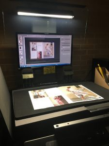 Digitization of fashion-related material in the library