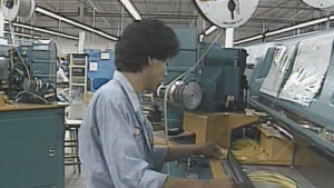 Video clip KXAS-TV screenshot, accessed through the Portal to Texas History