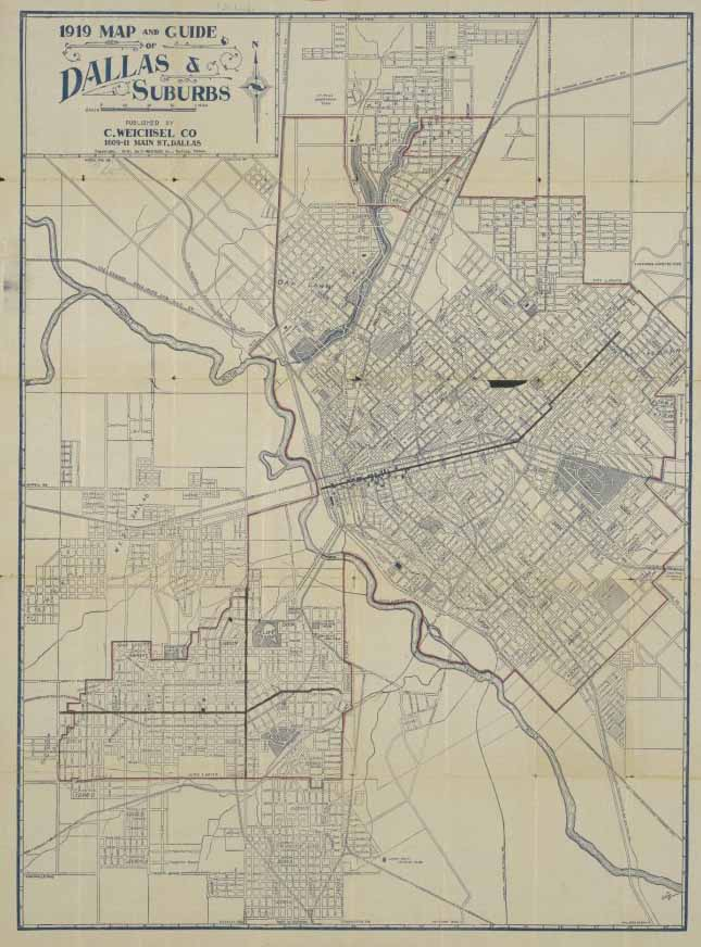 Old Dallas Map.Dallas Public Transit Was Better In 1919 Than It Is In 2019 D Magazine