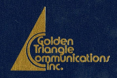 Golden Triangle Communications, Inc. Logo. Taken from Cable Television Proposal Prepared for Denton, Texas. Tom Harpool Collection, University of North Texas Special Collections.