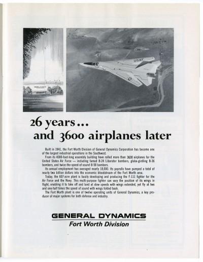 General Dynamics Advertisement