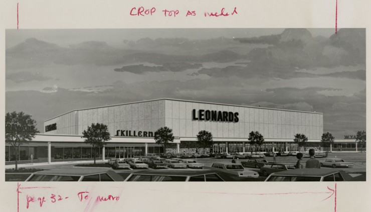 Leonard's Department Store in Downtown Fort Worth, UNTA_AR0327-076-001