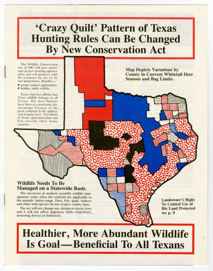 Cover of Texans for Wildlife Conservation Magazine, UNTA_AR0177-014-003