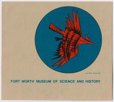 Front page of the 1973-1974 brochure for the Museum School, UNTA_AR0327-023-006_01