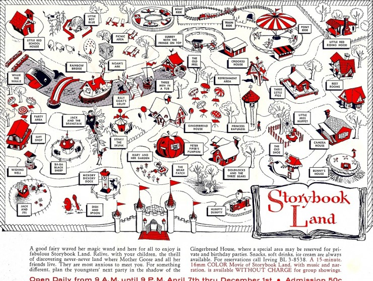 Storybook Land Map, taken from http://bacougars66.com/