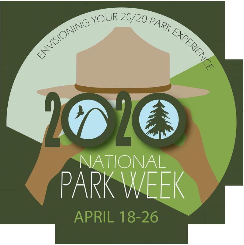 National Park Week 2020 logo