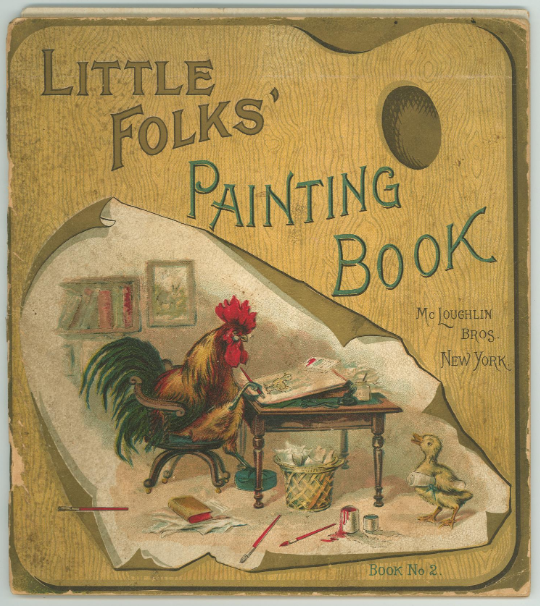 Little Folks' Painting Book cover