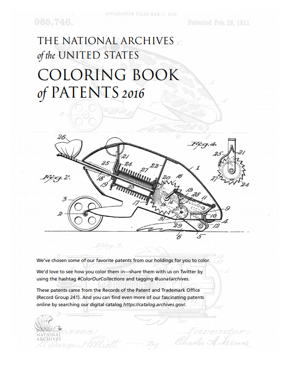 Coloring Book of Patents