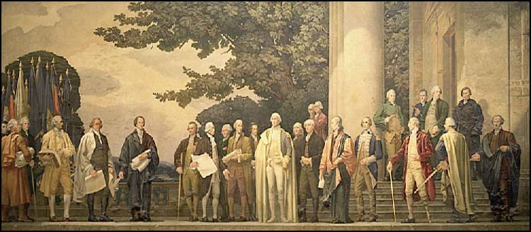 """""""The Constitution,"""" mural by Barry Faulkner"""