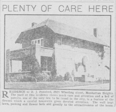 From 1917: The Wheeling House