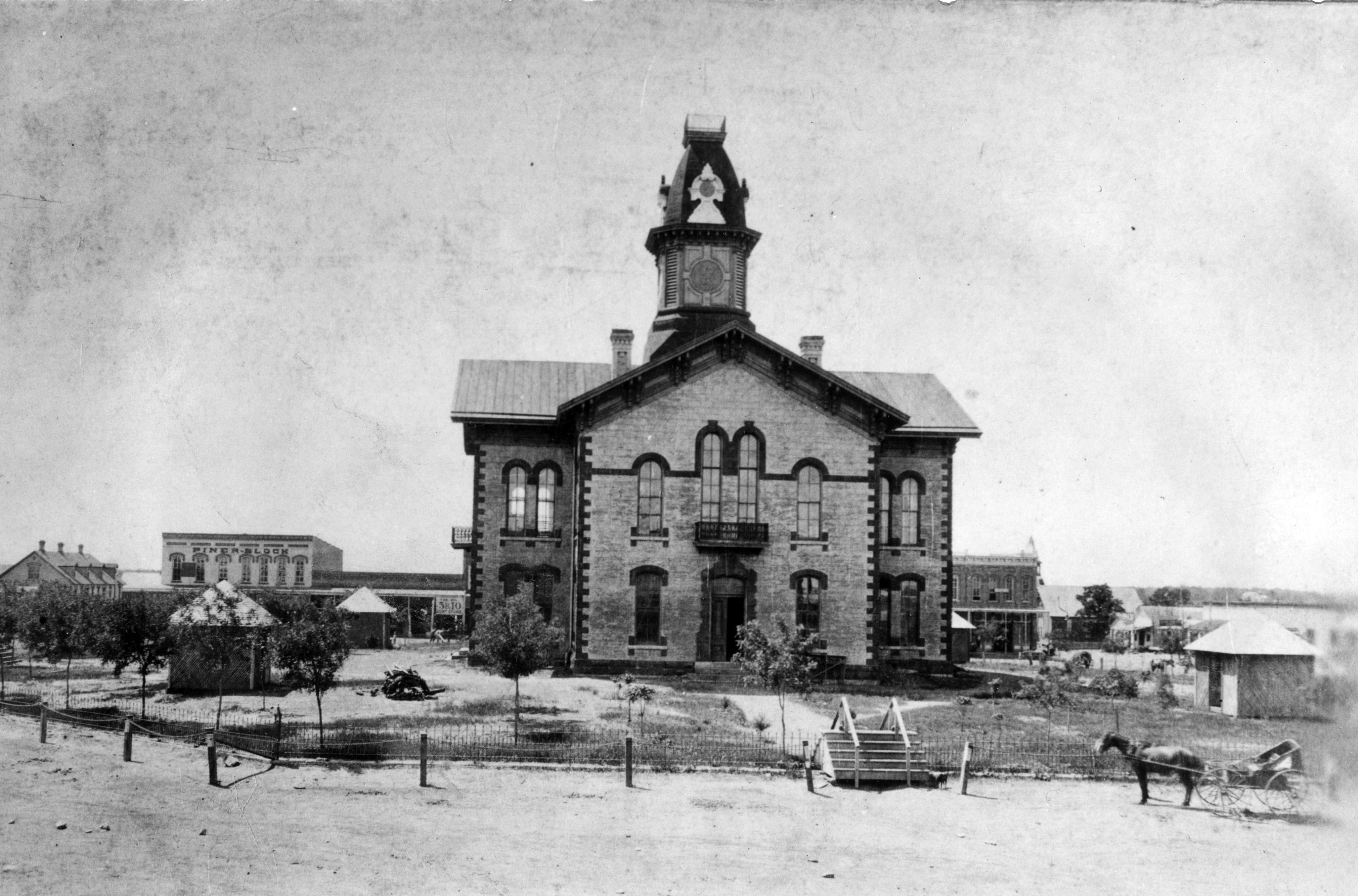 Denton County Courthouse | 125 Year Archival Retrospective