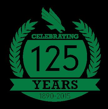 UNT 125 Year Anniversary Logo