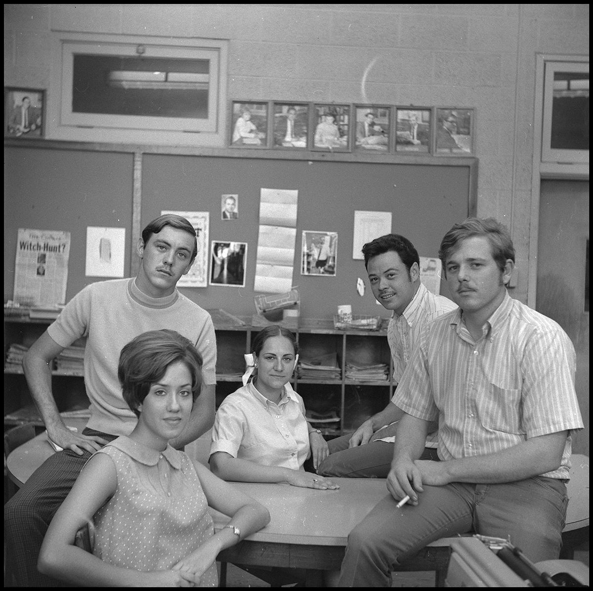 Campus Chat Staff 1969 125 Year Archival Retrospective