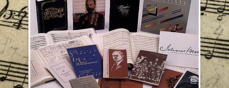 Selected Publications from the Library of Congress Music Division