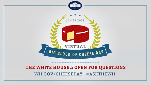 Virtual Big Block of Cheese Day