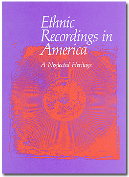 Cover of Ethnic Recordings in America by the American Folklife Center