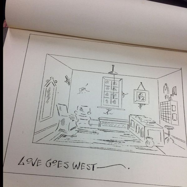 Love Goes West set design