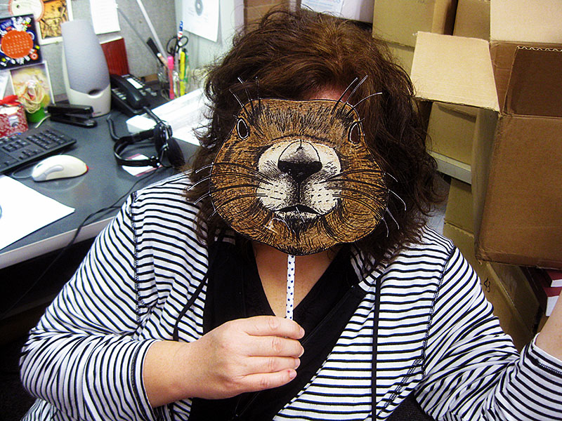 Prairie Dog Mask from Texas Endangered Species Activity Book