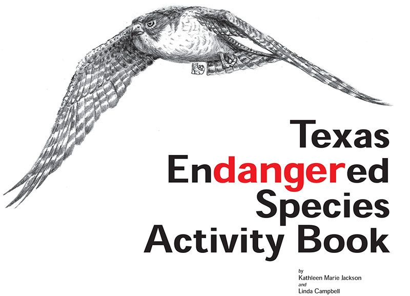Texas Endangered Species Activity Book